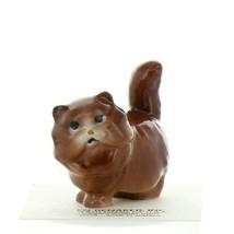 Hagen Renaker Cat Fat Brown Ceramic Figurine