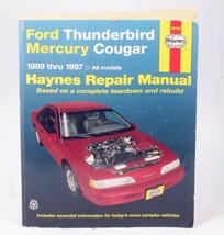 Haynes Repair Manual 36086 Ford Thunderbird Mercury Cougar 1989-97 - $10.95