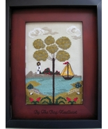 Nantucket Village Series Part 2 cross stitch chart By The Bay Needleart  - $9.00