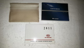 2011 Kia Optima Owners Manual 04411 - $34.60