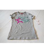 Puma girls active t shirt PGH27152 020 Grey Heather M NWT ^^ - $6.94