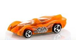 Vintage Loose Hot Wheels Power Pistons Clear Orange Acrylic