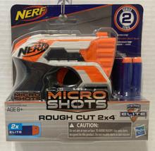 "NERF Series 2 Micro Shots ""Rough Cut 2x4 N-Strike Elite by Hasbro 8+ - $15.79"