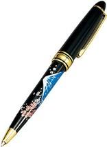 Japanese traditional handicrafts makie pen mt Fuji Cherry Blossoms pen - $50.96