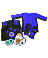 WILD KRATTS CREATURE POWER SUITS WITH 5 ANIMAL DISCS (VEST,GLOVES,SHIRT ... - $35.00