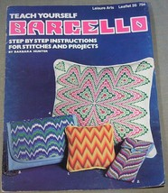 Leisure Arts Teach Yourself Barcello Leaflet 26 - $7.95