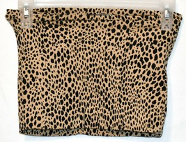 Brandy Melville Women's Cheetah Anima Print Crop Boob Tube Top image 2