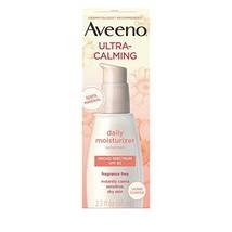 Aveeno Ultra-Calming Fragrance-Free Daily Facial Moisturizer for Sensitive, Dry