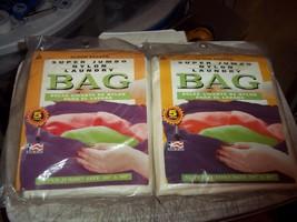 "2 BNIP 1996 LBU INC. 30""x40"" SUPER KEEPER JUMBO NYLON LAUNDRY BAGS SPORT... - $16.03"