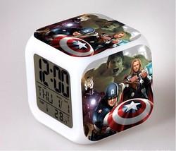 Marvel The Avengers LED Alarm Clock #21 - $23.99