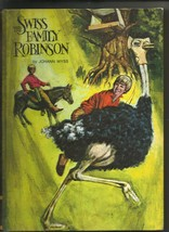 Swiss Family Robinson by Johann Wyss  Educator Classic library 1969 - $6.92