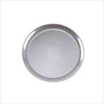 Clear 18 Inch Plastic Party Trays/Set of 25 - $105.93