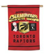 """Toronto Raptors NBA Finals 2019 Champions Vertical 28"""" by 40"""" Flag by WinCraft - $44.99"""
