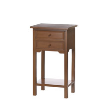 Sofa Side Table, Small Side Table With Storage Made Of Mdf And Pine Wood - $90.54