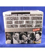Jazz Collector Edition [Audio CD] Ella Fitzgerald with Count Basie and W... - $7.43