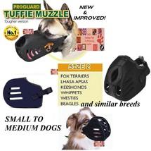 Medio Tuffie Museruola per Cani Comfort N. Morso extra Pesante Veloce Ea... - $17.84