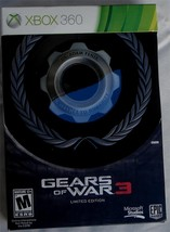 Gears of War 3 Limited Edition - Brand New Sealed - Xbox 360  BRAND NEW - $84.14