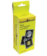 10 Guardhouse 2x2 Tetra Snaplock Coin Holders for Large Dollar 38.1mm - $7.49