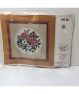 """Classic Bouquet Crewel Embroidery Kit Creative Circle #0610 13"""" x 13"""" - $8.79"""