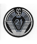 Stargate SG-1 TV Series Group 21 Logo Embroidered Patch UNUSED - $7.84