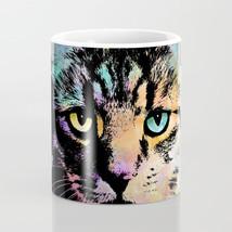 Coffee Mug Cup 11oz 15oz Made in USA Cat 618 grey gray multicolor L.Dumas - $17.99+