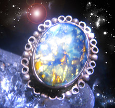 Haunted Ring Queen Witchs Extreme Wellness Protection Brew Ooak Magick Magickal - $5,077.77