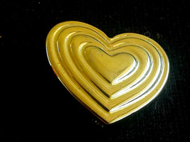 Vintage Signed The Variety Club heart pin Brooch - $1.99