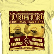 Yukon Cornelius vs The Bumble t-shirt classic Christmas movie Rudolph free ship image 2