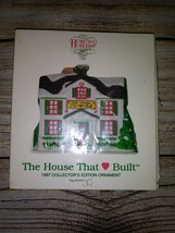Dept 56 The House That Love Built 1997 Ronald Mcdonald House Ornament New - $12.00