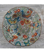 Alfred Meakin, 1940s, Marquis-Shaped, Art Deco, Paisley Chintz Pin Dish - $15.00
