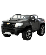 Rollplay Chevy Colorado 12V Battery-Operated Ride-On Truck for Kids - Gray - $399.99