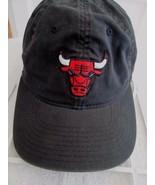 Adidas Chicago Bulls NBA Black Red Distressed Stretch Fit size L/XL Base... - $13.36