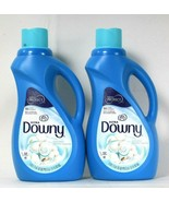 2 Bottles Ultra Downy 51 Oz Fabric Protect Cool Cotton 60 Lds Fabric Con... - $31.99