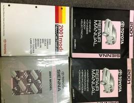 2001 Toyota Sienna Service Repair Shop Manual Set W Ewd & New Features Manual - $267.25