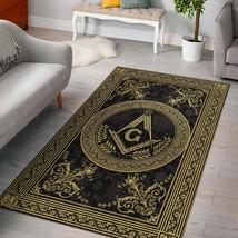 Freemason Are Rug , Masonic Area Rug - $69.99+