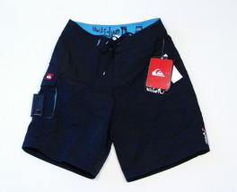 Quiksilver Black Board Shorts & Wax Comb Boardshorts Swim Trunks Waist 29 NWT - $29.69