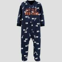 Just One You by Carter's Baby Boys' Little Bro Microfleece Sleep 'N Play... - $7.99