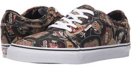 VANS Chukka Low (Labels) Black & Tan UltraCush Skate Shoes MEN'S 6.5 WOMEN'S 8 image 3