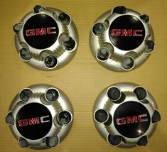 9EE49 Center Caps From Gmc Sierra, Dusty, Good Condition - $29.69