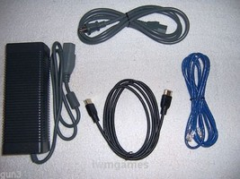 Xbox 360 Slim (S) power supply (AC adapter) + HDMI + Ethernet - $35.00