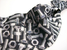RALPH MARLIN  Tools   NUTS & BOLTS   100 Mens POLY  Necktie 9 2-15B - $9.99