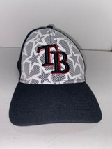New Era 39 thirty Tampa Bay Rays Mlb Baseball Hat Fitted Size LG-XL - $12.82