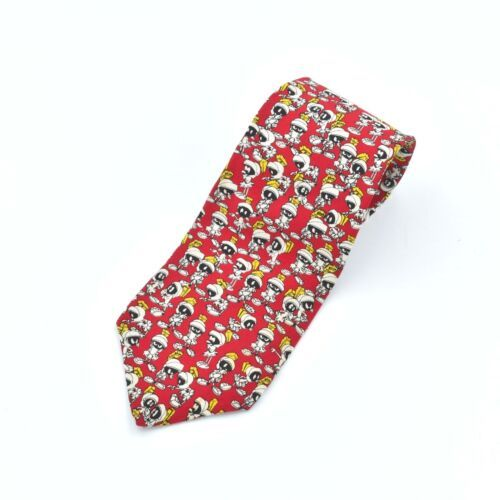 Primary image for Looney Tunes By Balancine Astronauts Silk Tie Necktie