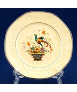 Salem Antique Ivory Bird & Basket Bread Plate - $5.50