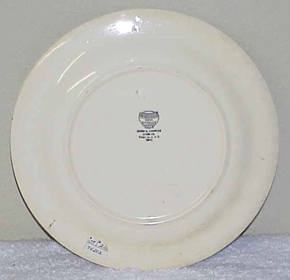 Vintage 9-Inch Mexicali Plate by Knowles