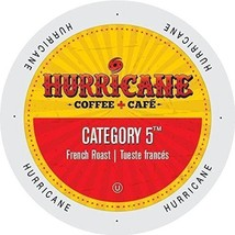 Hurricane Coffee Category 5 French Roast Coffee 48 or 96 Keurig K cup Pick Size  - $36.99+