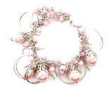 044bp pink sea shell pearl bracelet thumb155 crop