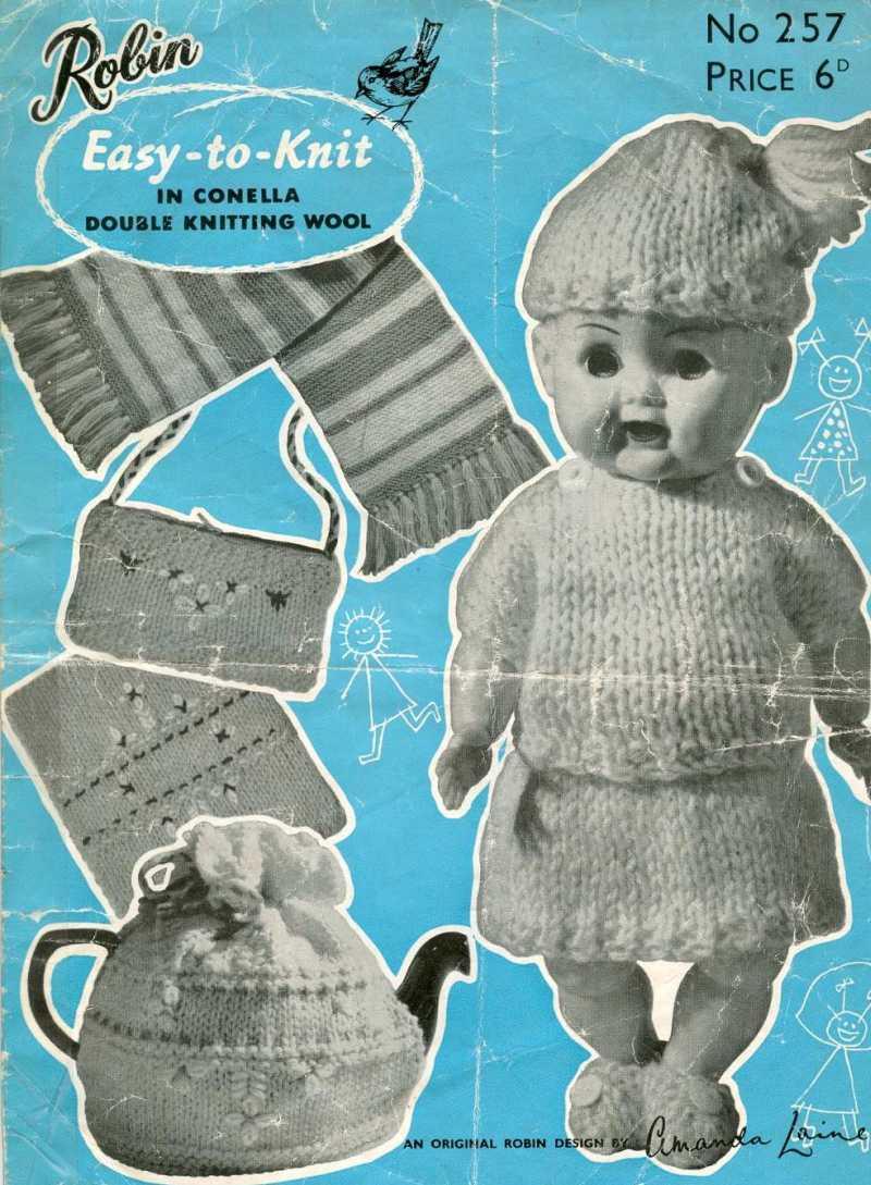 Robin Knitting Pattern: 15 listings