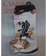 3 Pair Licensed Miami Ink grey Panther Tattoo L... - $6.99