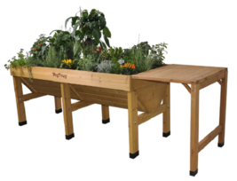 Wooden Planting Table Gardening Potting Greenhouse Bench Shelf  Flower L... - $133.94